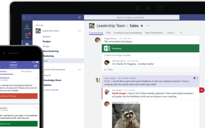 Cloud collaboration with Microsoft Teams