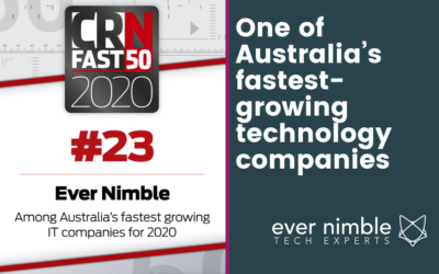 Ever Nimble named as one of the 50 fastest-growing technology companies in Australia
