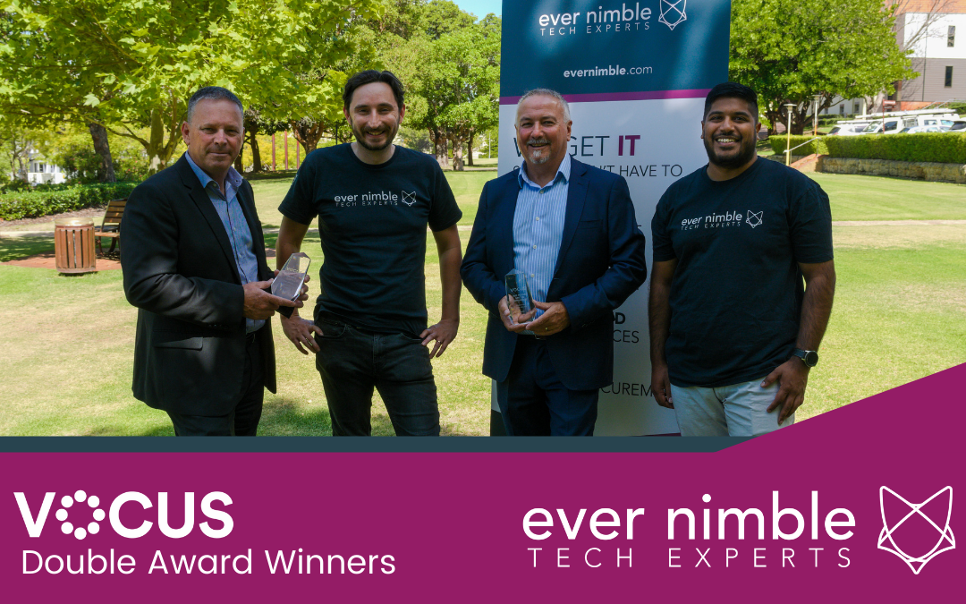 Ever Nimble wins big at national Vocus partner conference.