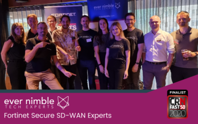 Ever Nimble achieves the exclusive Fortinet Secure SD-WAN Specialisation