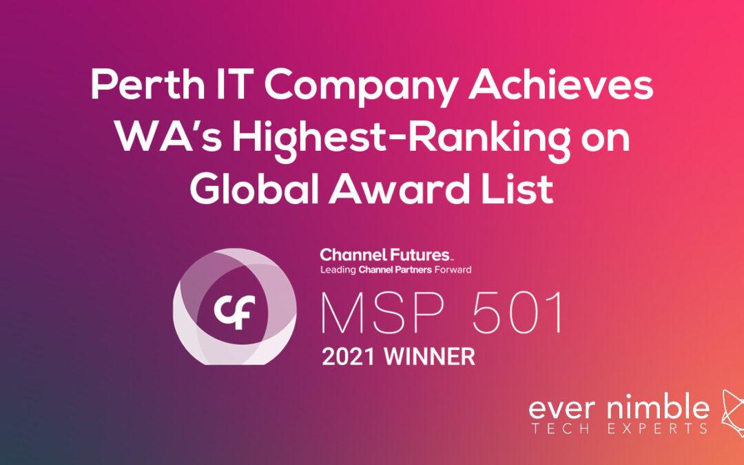 Perth IT Company Achieves WA's Highest-Ranking on Global Award List